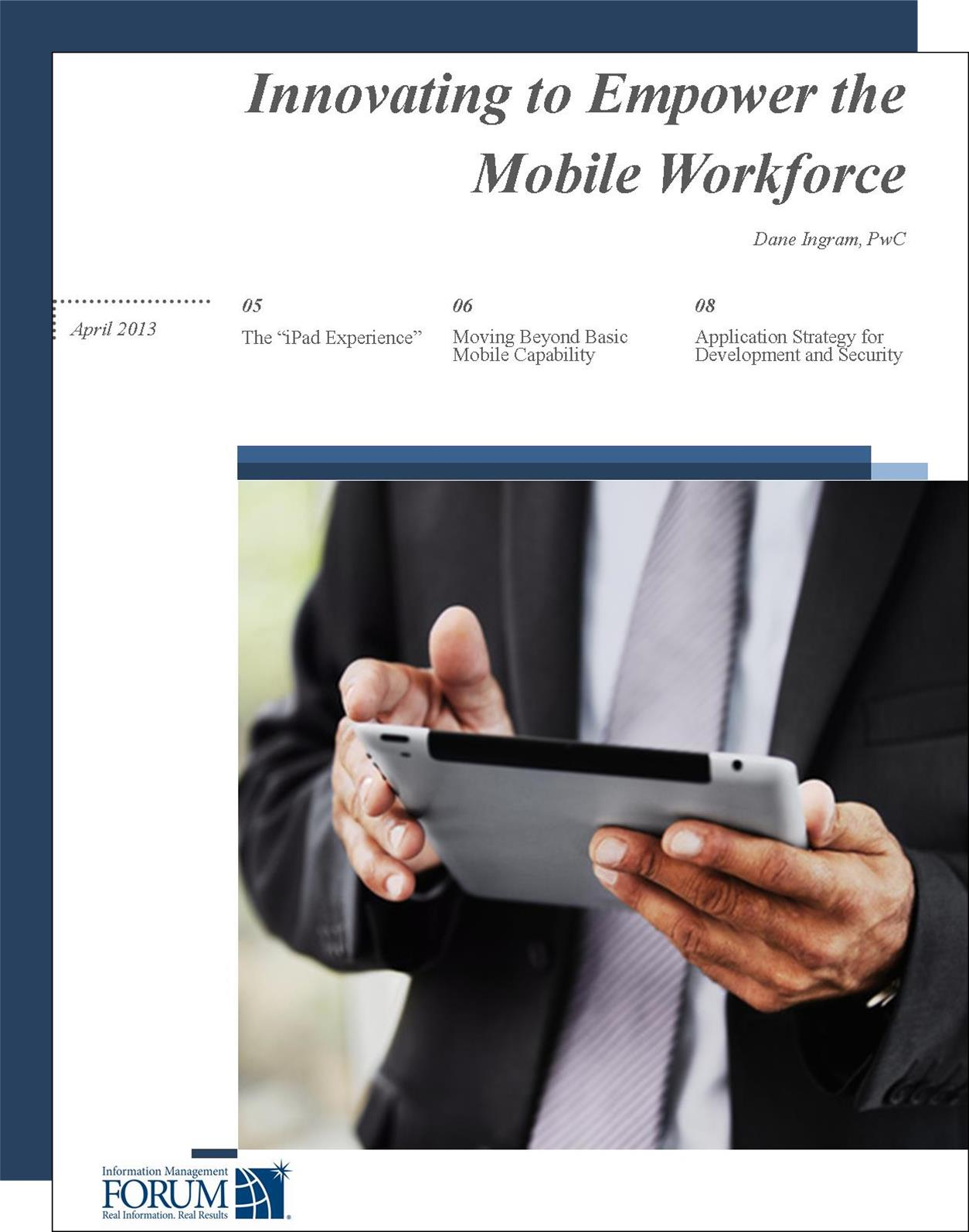 PwC Mobile Device Remote Workforce Innovation
