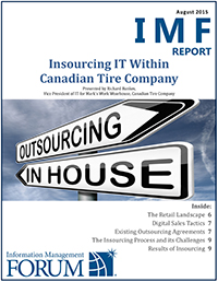 Insourcing IT Within Canadian Tire Company Report Cover